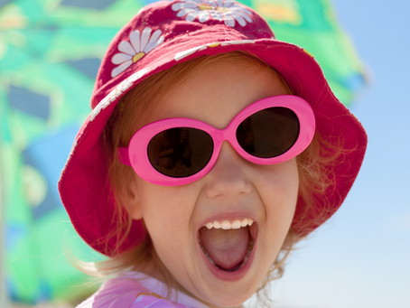 Óculos de sol infantil e sua importância