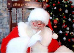 Santa shh