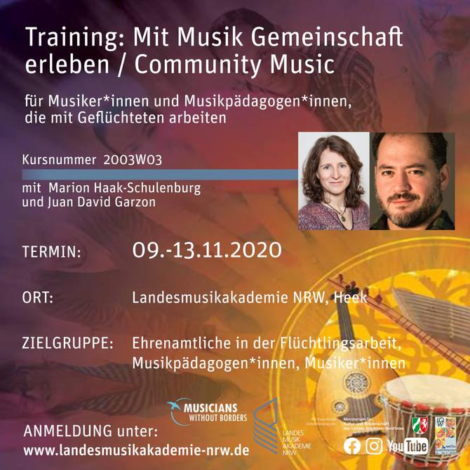 Training: Mit Musik Gemeinschaft erleben / Community Music