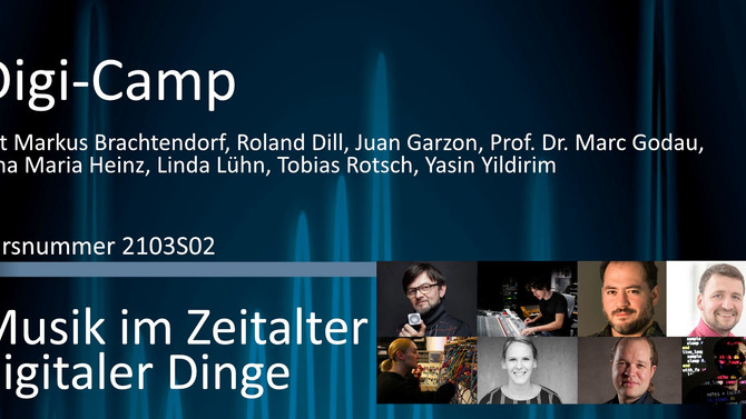 I'll be presenting at the DIgiCamp in Germany!