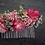 Thumbnail: Peigne Gloria en fleurs séchées