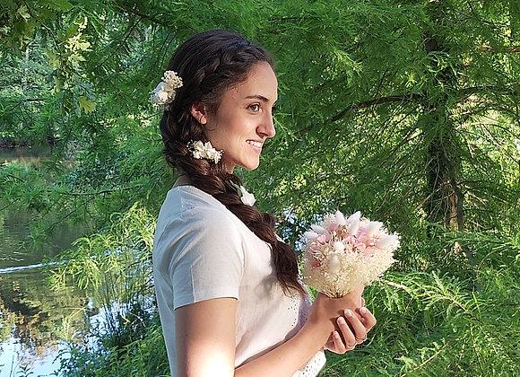Rozalia, bouquet en fleurs stabilisées et séchées