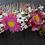 Thumbnail: Peigne Rosalie en fleurs séchées pour vos jolies occasions fleuries