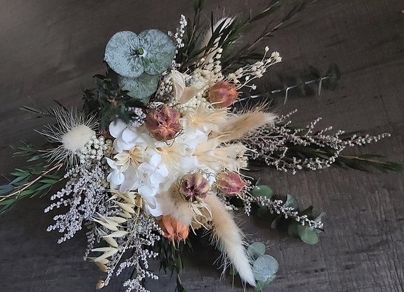 Elise bouquet en fleurs séchées et stabilisées