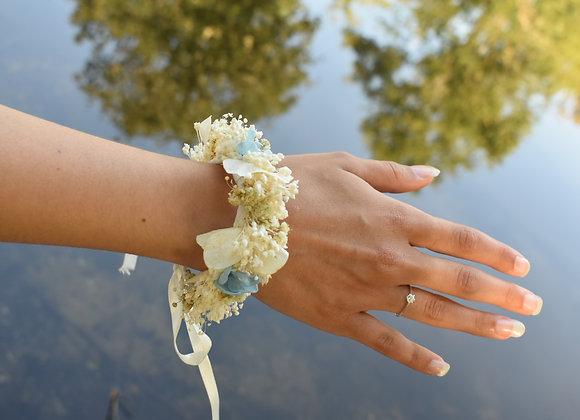Bracelet Eva en fleurs naturelles stabilisées et séchées