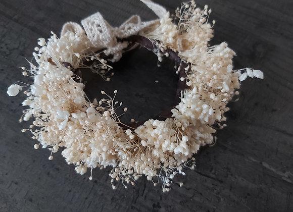 Bracelet Suzon en fleurs séchées et stabilisées