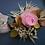 Thumbnail: Bracelet Joséphine fleurs séchées et stabilisées sur guipure