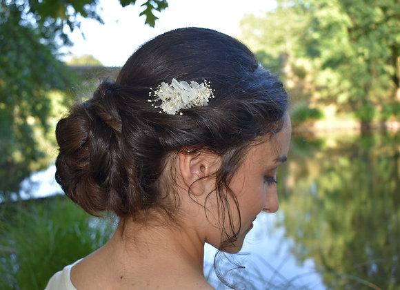 Mini peigne en fleurs stabilisées
