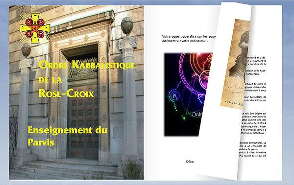 Exemple de cours de l'Ordre Kabbalistique de la Rose-Croix