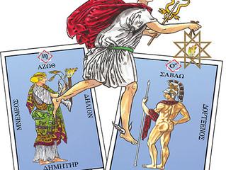 Sacred Names of the Aurum Solis Tarot