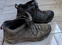 Old shoes ready for retirement :-)