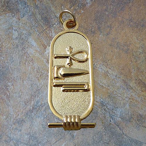 Egyptian Talisman Gold overlay