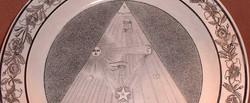 Egyptian Masonic Plate