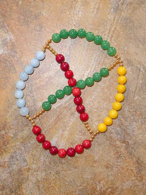 Prayer beads Wheel of the Year