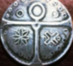 Médaille utilisée dans les rites gnostiques de l'O.K.R.C.