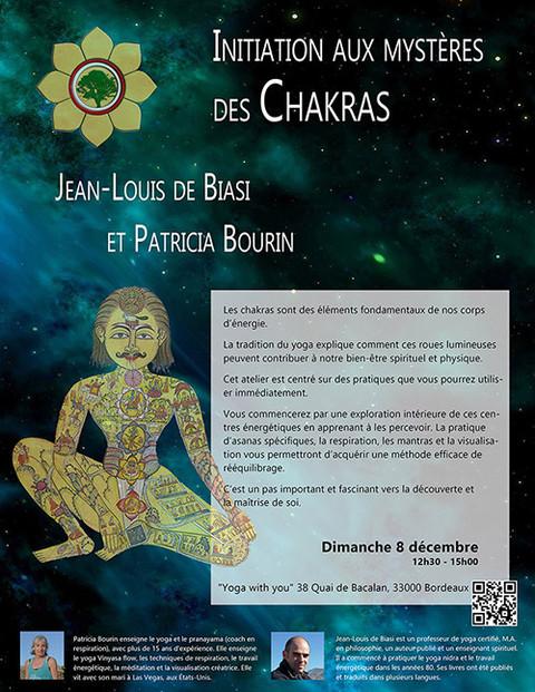 Initiation aux mystères des chakras