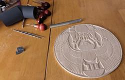 Egyptian solar disk