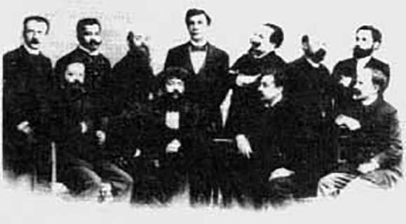 Fondateurs de l'Ordre Kabbalistique de la Rose-Croix
