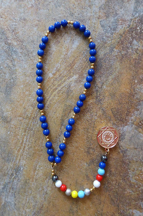 Prayer beads of the Spiritual Ladder with medal