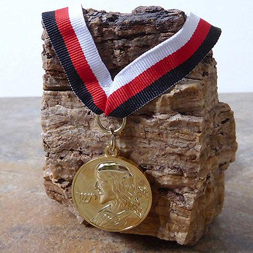 Médaille de Ieschouah (Campo del fieri) – Plaquée or