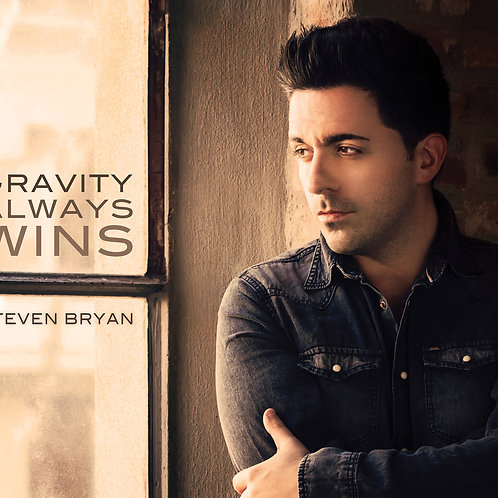 Steven Bryan - Gravity Always Wins (SIGNED CD)