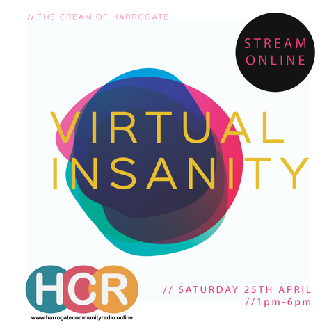 VIRTUAL INSANITY MUSIC FESTIVAL ONLINE THIS AFTERNOON!