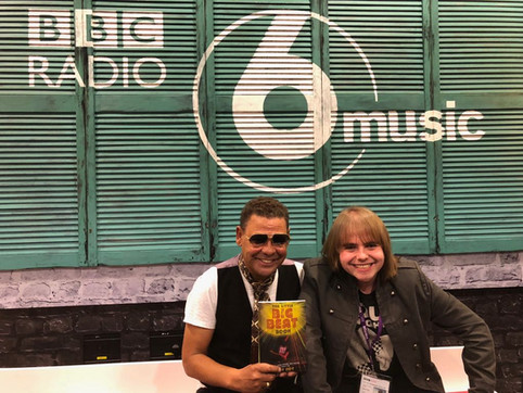 Rory meets Craig Charles to promote 'The Little Big Beat Book'