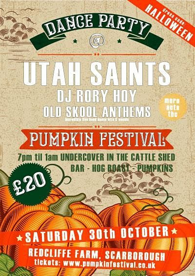 GIG Announcement - Pumpkin Festival, Redcliffe, Scarborough