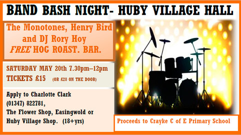 Charity Show in Huby Village Hall