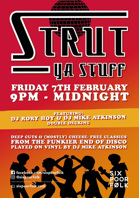 Rory Hoy & Mike Atkinson Back-2-Back DJ Set this Friday!