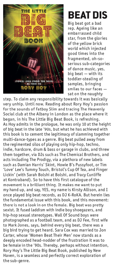 'The Little Big Beat Book' is reviewed in DJ Mag!