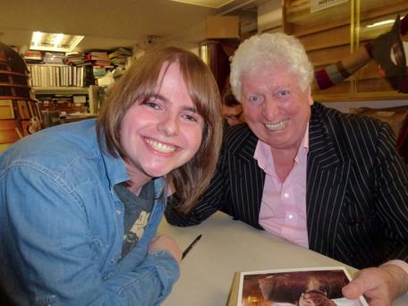 Me with Tom Baker AKA Doctor Who No.4