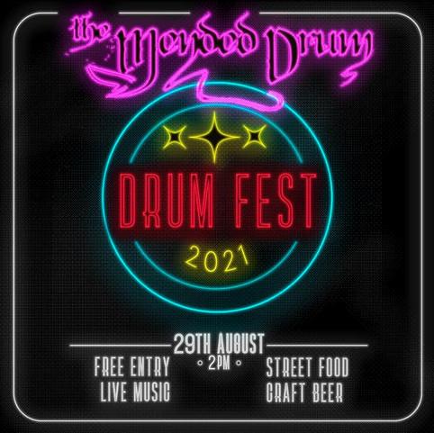 GIG ANNOUNCEMENT - Drum Fest 2021