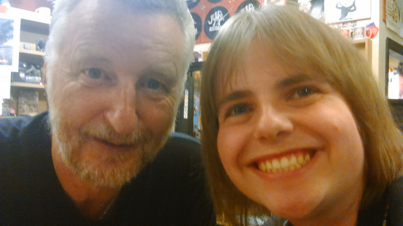 Me with Billy Bragg