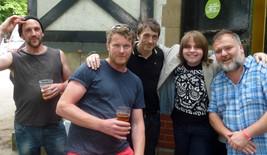 Me with Britpop legends Dodgy