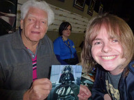 Me with David Prowse (Darth Vader from Star Wars)