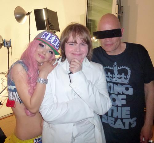 Me with Kitten & The Hip - Ashley Slater & Scarlett Quinn