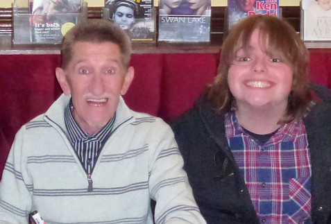 Me and Barry Chuckle