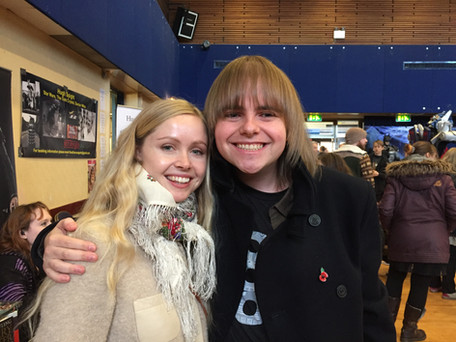 Me with Ingvild Deila (Princess Leia In Star Wars Rogue One)