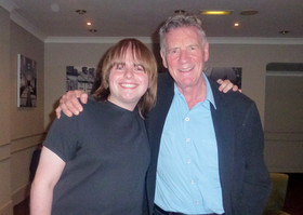 Me with Monty Python's Michael Palin