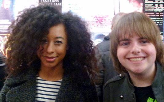 Me with Corinne Bailey Rae