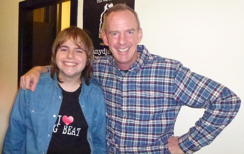 Me with Norman Cook AKA Fatboy Slim