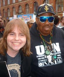 Me with Hip-Hop Pioneer Afrika Bambaataa