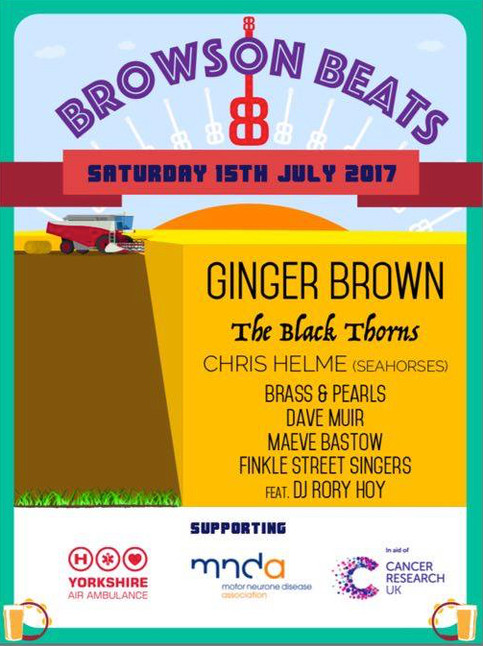 Rory to DJ at Browson Beats Festival this Saturday 15th July 2017