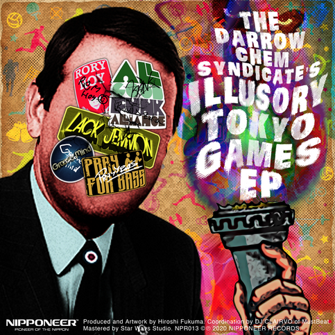 OUT NOW - The Darrow Chem Syndicate 'Illusory Tokyo Games' EP
