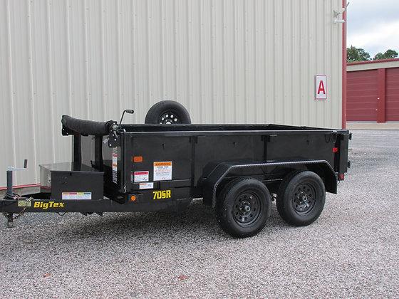 pre-owned Big Tex 70 SR dump trailer