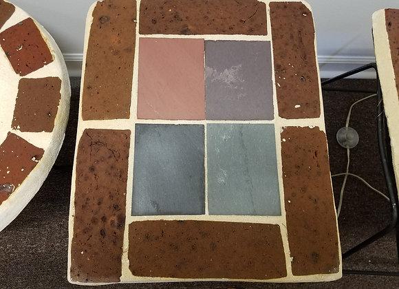 Square Mortar Table