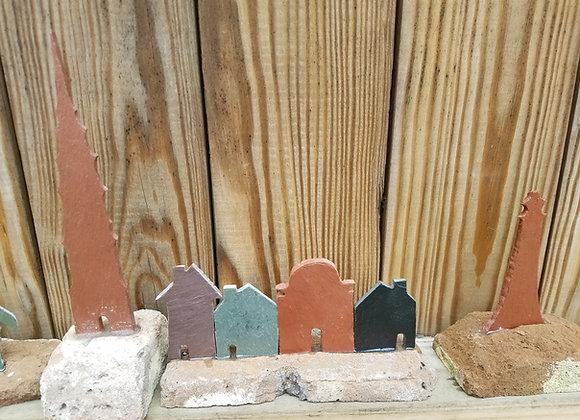 Slate image on Brick