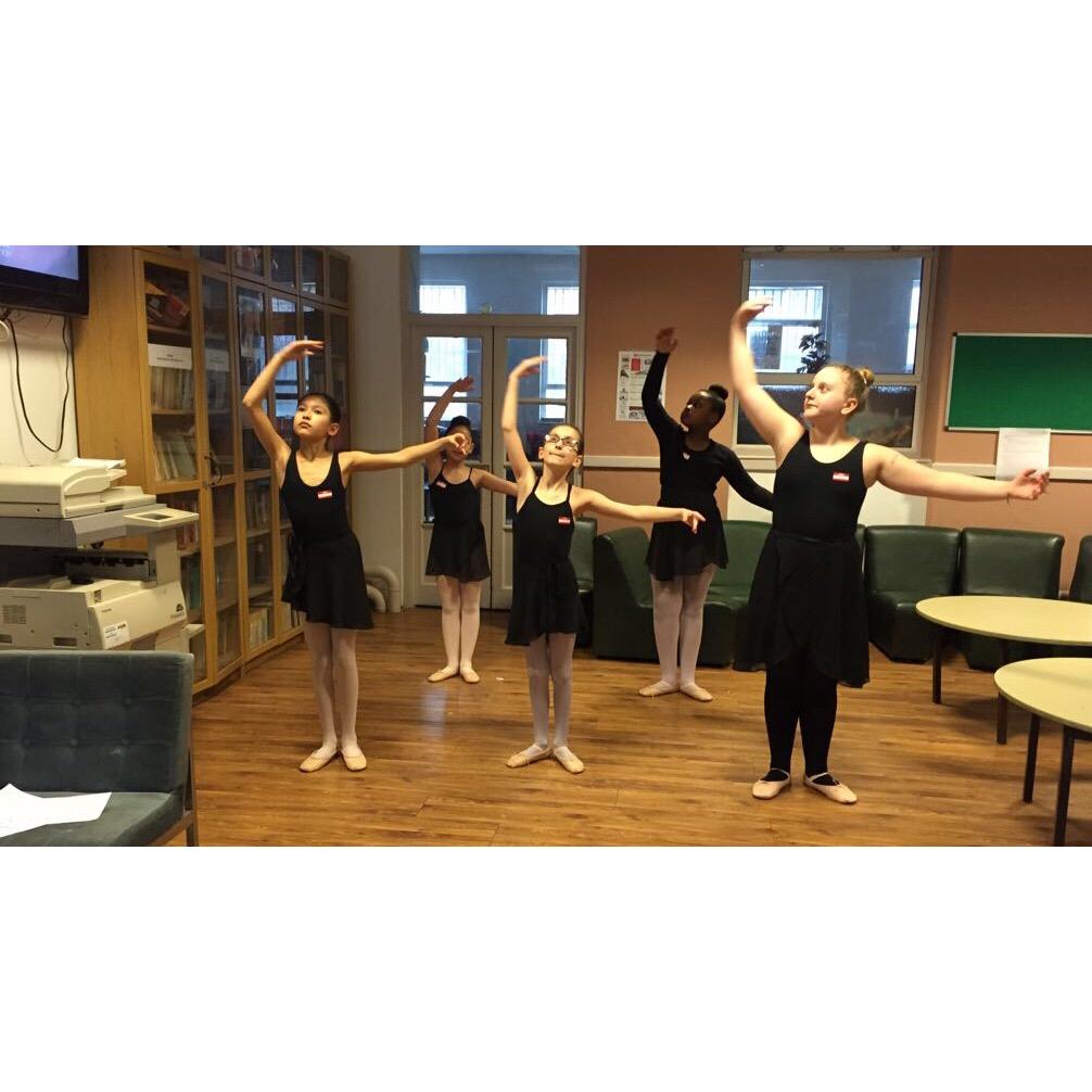 Our DS Islington Juniors practising