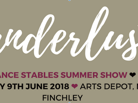 Save The Date - Dance Stables Summer Show!